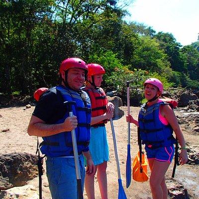 Rafting en el río suarez
