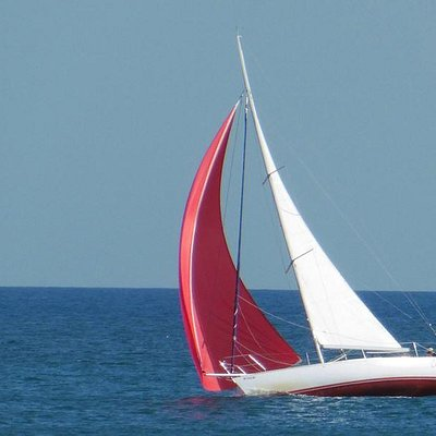 Spinnaker adventure sail