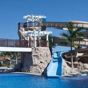 Enjoy the Water Slide at Aquaria!