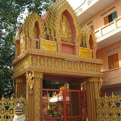 Chùa Chantarangsay or Chantarangsay Pagoda is an ancient Khmer pagoda in Saigon.