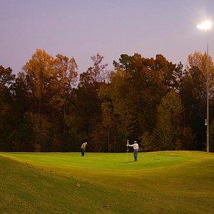 Golf under the stars!