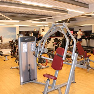 The modern fitness gym