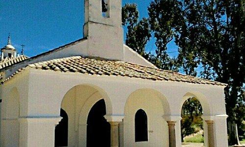 Entrada a la Ermita de la Virgen de las Veredas