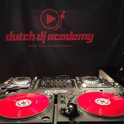 Main DJ booth