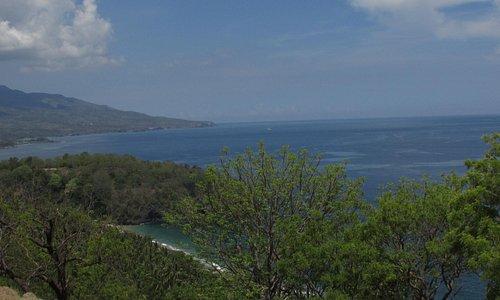 View  dari atas Bukit Asah