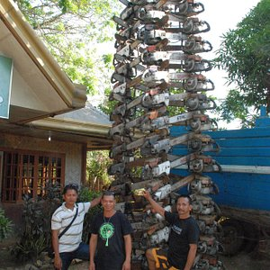 PNNI Para Enforcement team with the chainsaw tower.