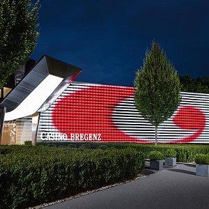Außenfassade Casino Bregenz