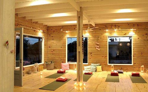 Salón de yoga