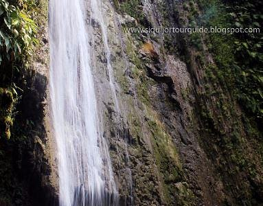 The tallest waterfalls in Siquijor