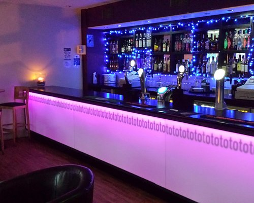 Lounge Bar In The Evening