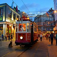 Istiklal by night
