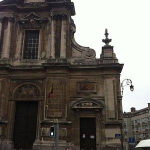 the baroque style facade