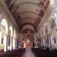 Interior da igreja N. Sra. do Rosário