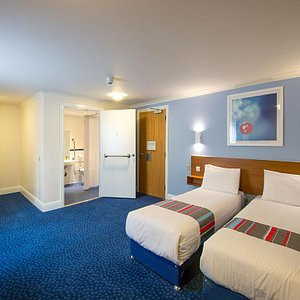 Accessible twin room