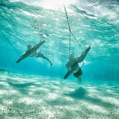 Subwinging with Sealingo - Flying Underwater in the BVI