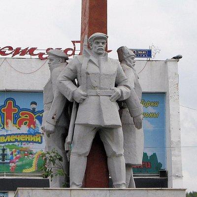 Памятник борцам Октябрьской революции, Нефтекамск