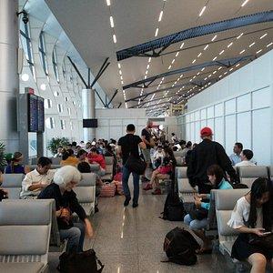 Waiting room for flight in Da Nang