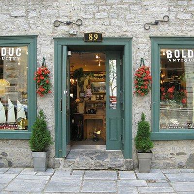Boutique Antiquités Bolduc