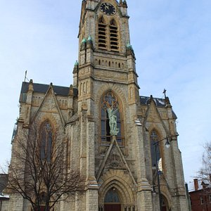completed in 1890: Gothic Revival