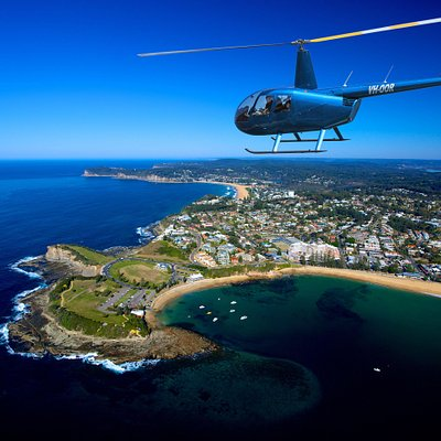 My Heli over Terrigal Beach. NSW
