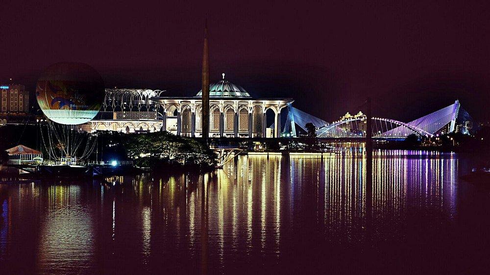 Night view from the bridge