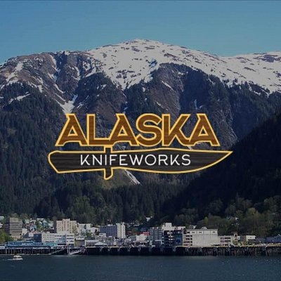 Alaska Knifeworks located on the waterfront in Historic Merchants Wharf in downtown Juneau, Alas