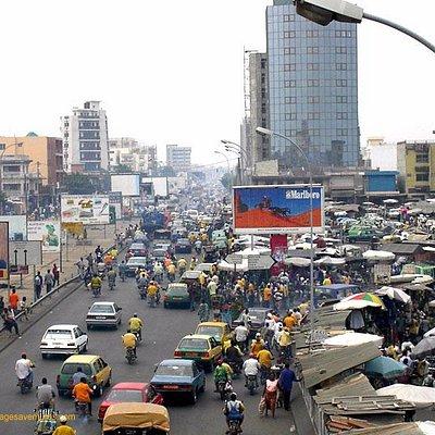pleine ville de cotonou