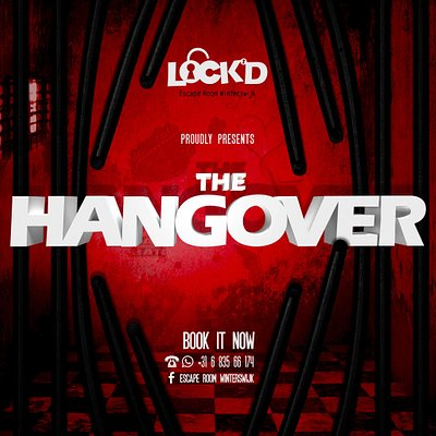 Logo 'The Hangover', thema van de Escape Room