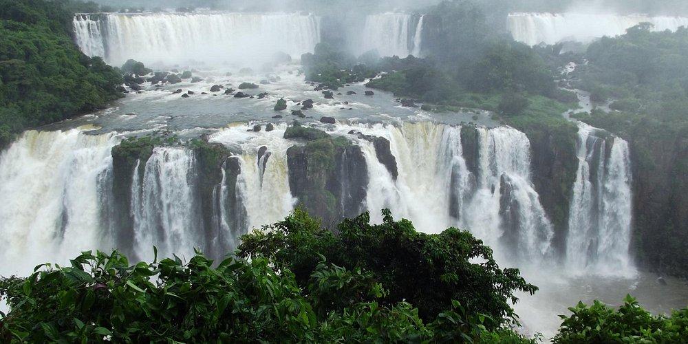 Iguazu, incroyable vue