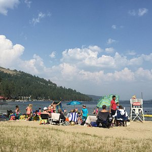 plage de donner lake