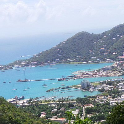 A harbour on Tortola