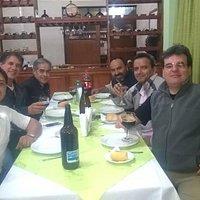 Cenando en Hotel de Turismo La Quiaca
