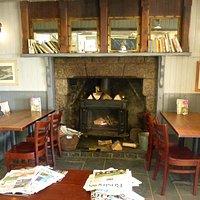 Ferryboat Inn wood burner stove