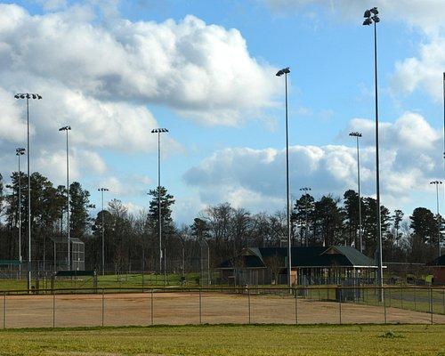 Ball Field with Night Lighting