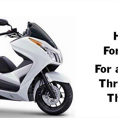 Scooter Rental Bangkok Honda Forza