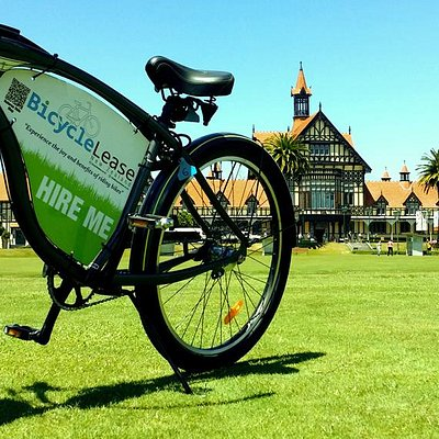 Bicycle Lease NZ Rotorua Bath House