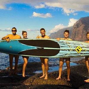 Stand up paddle Los Gigantes