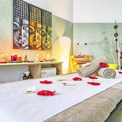 ayurveda massage area
