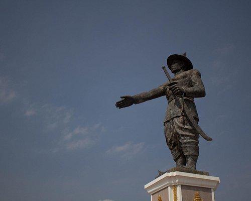 Chao Fa Ngum Statue