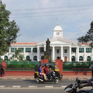 M.G.Road nearby Government Secretariat