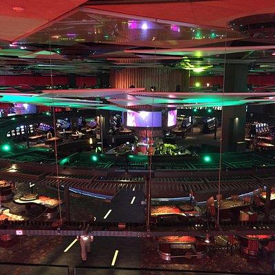 Vista casino do Hotel