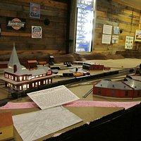 Replica of the North Adams Train Depot and Hoosac Tunnel
