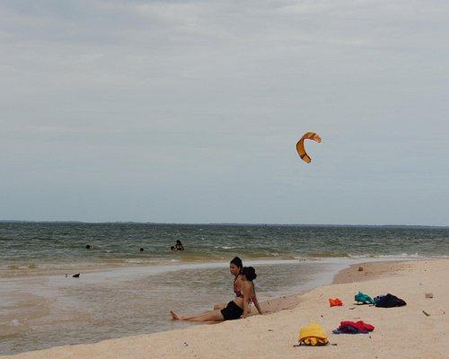 Praia do Caranapari, lado direito