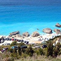 Kavalikefta beach - Kalamitsi Lefkados.