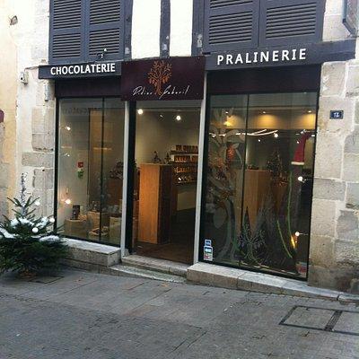 Bienvenue à la Chocolaterie Pralinerie Didier Gaborit de Bayonne
