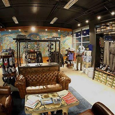 A peak inside our West Seattle fly fishing and outdoor lifestyle boutique.  We carry Patagonia,