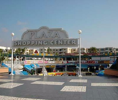 cc plaza  shoping center   gran canaria