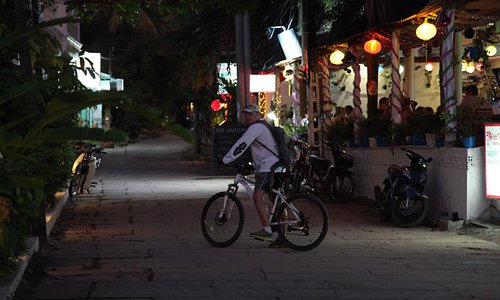 Phu Quoc on a bike