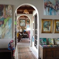 Gilly Gobinet's Art Gallery at Fitches Creek, Antigua