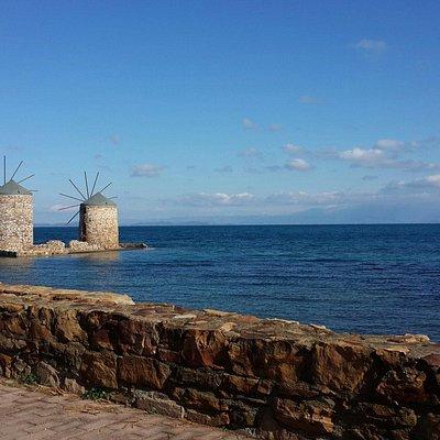 Windmills at Vrontados